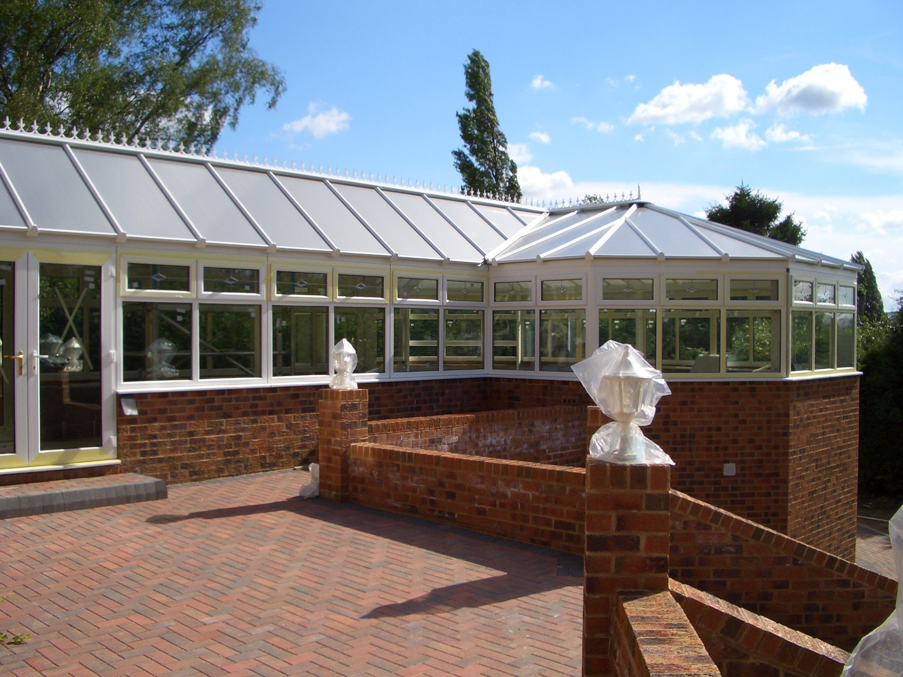 P-Shaped uPVC Conservatory Fleet, Hampshire