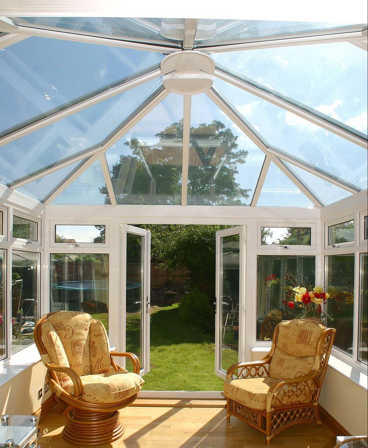 Glass Conservatory Roof, Fleet Hampshire