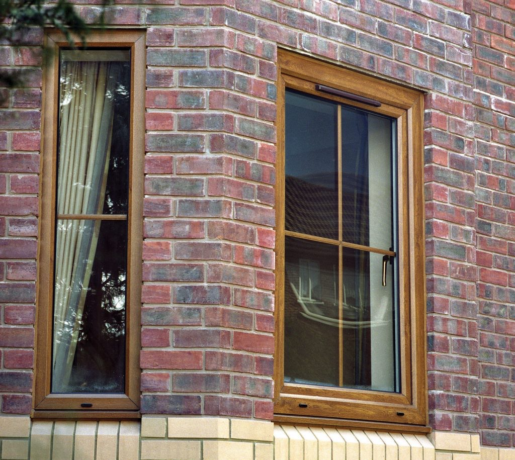 Woodgrain Rehau Tilt and Turn Windows Fleet