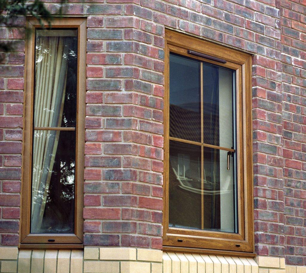 Woodgrain Rehau Tilt and Turn Windows Fleet